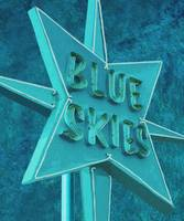 BLUE SKIES AHEAD - VINTAGE NEON SIGN