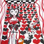 """Queen of Hearts"" by SunfluerDesigns"