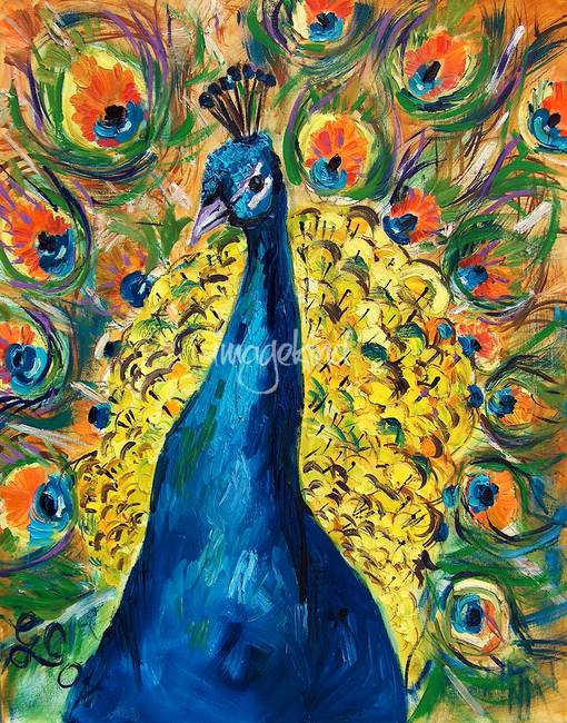 Stunning peacock artwork for sale on fine art prints for Real art for sale