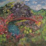 """The Red Bridge"" by ArtByLinda"
