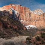 """The West Temple, Zion National Park"" by dawilson"
