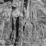 """Rockface, Zion National Park"" by dawilson"