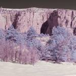 """Kolob Terrace View, Zion National Park (IR)"" by dawilson"