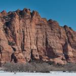 """Kolob Terrace Panorama, Zion National Park"" by dawilson"