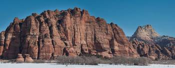 Kolob Terrace Panorama, Zion National Park