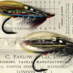 """Antique Salmon Flies"" by saddogshirts"