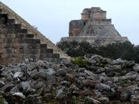 Uxmal stairs
