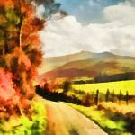 """Brecon Beacons"" by valzart"
