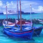 """Capri Blues - New"" by TheExecutiveGarden"