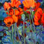 """Garden Poppies"" by barbbenik"