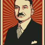 """Ludwig von Mises Poster 2009 2"" by libertymaniacs"
