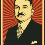 """Ludwig von Mises Poster 2009 3"" by libertymaniacs"