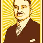 """Ludwig von Mises Poster 2009"" by libertymaniacs"