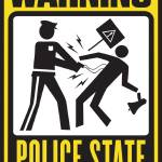 """Warning: Police State"" by libertymaniacs"