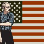 """Ron Paul Rolling Up 2009 flag-03"" by libertymaniacs"