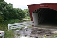 A Covered Bridge in Madison County, Iowa