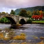 """Llanrwst Bridge"" by rdwittle"