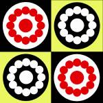 """Four Circles"" by isa"