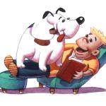 """""""Pets interior illustration 01"""" by MikeCressy"""