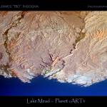 """Planet Art 5 - Lake Mead"" by lightningman"
