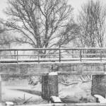 """Snowy Bridge"" by benzingphoto"