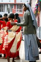 Nun with Girl, Kolkata