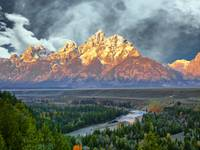 Teton's First Light