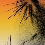 """""""OrangeSunset Fireworks"""" by AmyKania"""