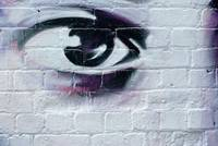 Serious Graffiti Eye