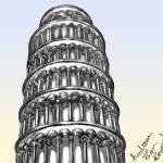 """Pisa Tower"" by Puc_Cel_Mic"