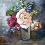 """Roses in Glass"" by FloridaArtist"