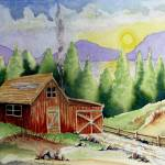 """Wilderness Cabin"" by JimmySmith"