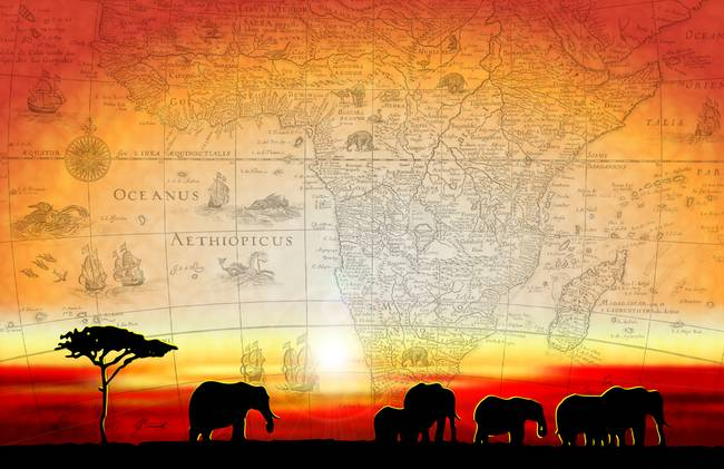 Afrika - Page 18 Old-World-Africa-Warm-Sunset_art