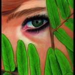 """Peering Through the Leaves"" by ArtByAlycia"