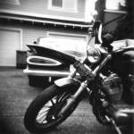 """Big Daddy and The Sportster"" by KurtClark"