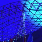 """Melbourne arts Center Abstracted"" by davidflurkey"