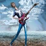 """""""Skinny Guitar"""" by RickBorstelman"""