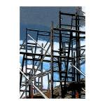 """""""Scaffold & Sky"""" by mather_boehm_images"""