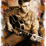 """Elvis Presley"" by imotichey"