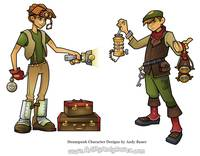 Steampunk Character Design