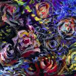 """Abstract Roses 3"" by Linandara"