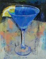 Royal Blue Martini