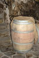 Wine Barrel in Italy