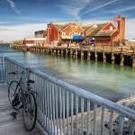 """""""Bike by the Sea"""" by Shutterscript"""
