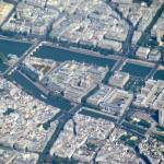 """""""Paris from the sky"""" by Bosphoreion"""