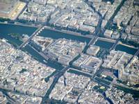 Paris from the sky