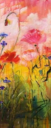 Wildflowers Part 2 - Original Painting by Ginette