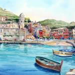 """Vernazza"" by WillyDaleArt"