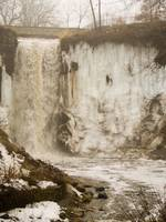 Minnehaha Falls Winter 2