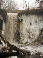 Winter Minnehaha Falls 1